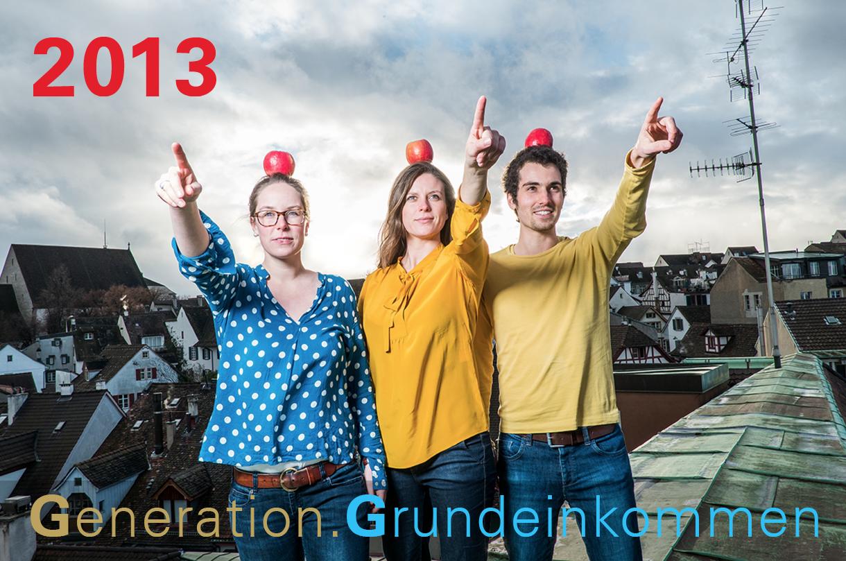 generation grundeinkommen 2013